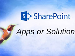 Here's why Apps are better than Solutions when it comes to SharePoint