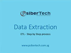 ETL : Data Extraction - Pointers