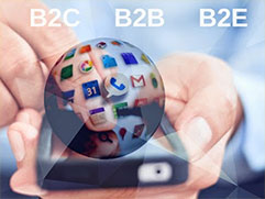 Blurred lines : B2B and B2C mobile apps
